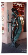 Indian On The Square Sante Fe Nm Bath Towel