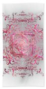 Indulgent Pink Lace Bath Towel