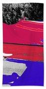 Inflatable Flag July 4th Parade 2 Tucson Arizona Bath Towel
