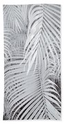 Infrared Palm Abstract Bath Towel