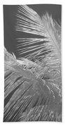 Infrared Palm Trees Bath Towel