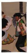 Inka Dancers Bath Towel