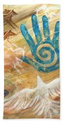 Inner Journey Bath Sheet by Brandy Woods