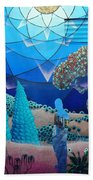 Inner Space-art On A Wall.  Hand Towel
