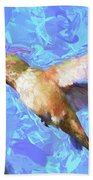 Inside The Flower - Impressionism Finish Bath Towel