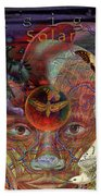 Insight To Speak Of..  Solar Hand Towel by Joseph Mosley
