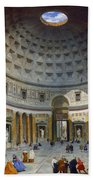 Interior Of The Pantheon Bath Towel