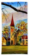 Interlaken Switzerland Bath Towel