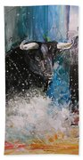 Into The Arena Bath Towel