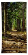 Into The Woods Bath Towel