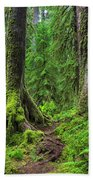 Into The Woods Bath Towel