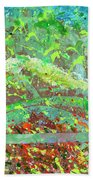 Into The Woods-through The Looking Glass Bath Towel