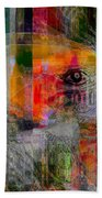 Intuitional Abstract Bath Towel