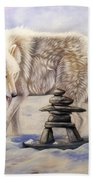 Inuksuk Bath Towel