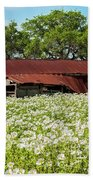 Poppy Invasion In Hillcountry-texas Bath Towel