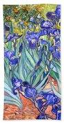 Irises Hand Towel