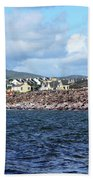 Irish Seaside Village, Co Kerry  Hand Towel
