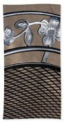 Iron Art Work Bath Towel