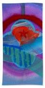 Iron Butterfly Bath Towel