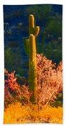 Ironwood Saguaro Dance - Bold Bath Towel