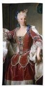 Isabella Farnese. Queen Of Spain Bath Towel