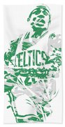Isaiah Thomas Boston Celtics Pixel Art 15 Bath Towel