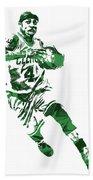 Isaiah Thomas Boston Celtics Pixel Art 5 Bath Towel