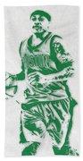 Isaiah Thomas Boston Celtics Pixel Art Bath Towel