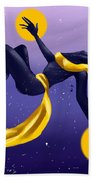 Ishtar Embraced By The Void Bath Towel