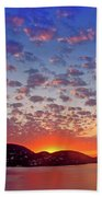 Island Sunrise Bath Towel