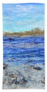 Islands And Surf Hand Towel
