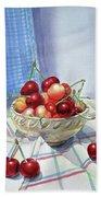 It Is Raining Cherries Hand Towel