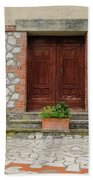 Italy - Door Twenty Two Bath Towel