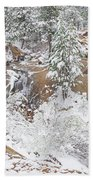 It's Mid May. We're Fast Approaching The End Of Our Snow Season.  Bath Towel