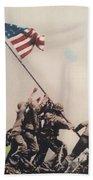 Iwo Jima Bath Towel