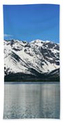 Jackson Lake Teton Panorama Bath Towel