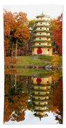 Jade Buddha Pagoda 4 Bath Towel