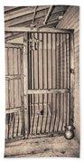 Jail House Interior Bath Towel