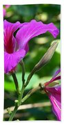 Jamaican Bloom Photograph   Bath Towel