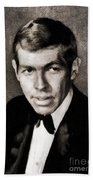 James Coburn, Vintage Actor Bath Towel
