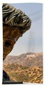 James Dean - Griffith Observatory Bath Towel