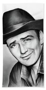 James Drury Bath Towel