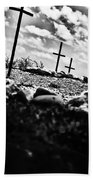 Jamestown Cemetery Bath Towel