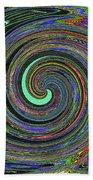 Janca Abstract Panel #5473w4 Bath Towel