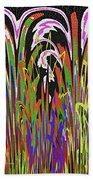 Jancart Drawing Abstract #8455wtpc Bath Towel