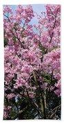 Japan Blossoms Bath Towel