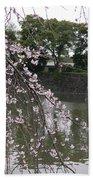 Japan Cherry Tree Blossom Bath Towel