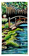 Japanese Tea Gardens Bath Towel