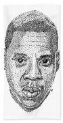 Jay Z Bath Towel