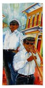 Jazz In The Treme Hand Towel